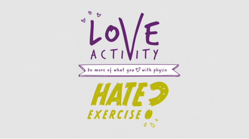 Go to Love activity, hate exercise?