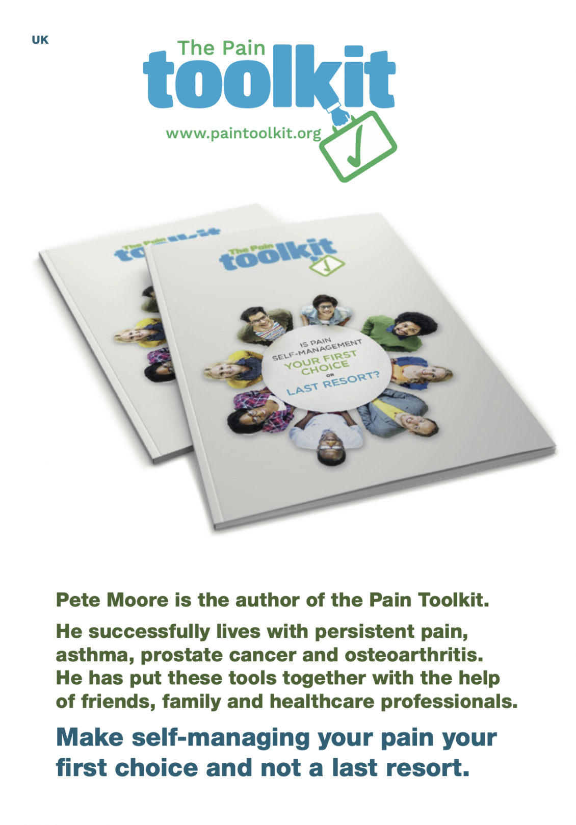 Pain Toolkit 24 (A5) Page booklet