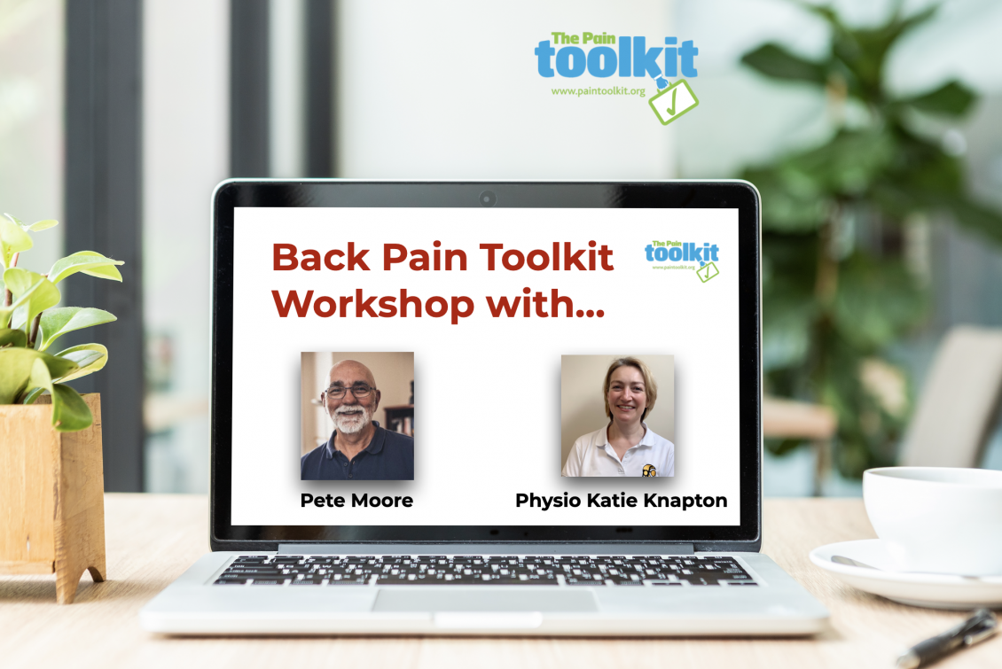 A very special Pain Toolkit workshop for people with long-term back pain