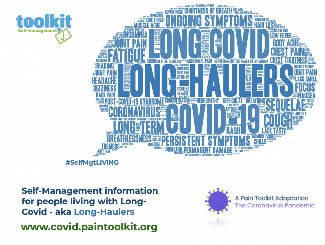 Brand NEW Website for people living Long-Covid (Long-Haulers)