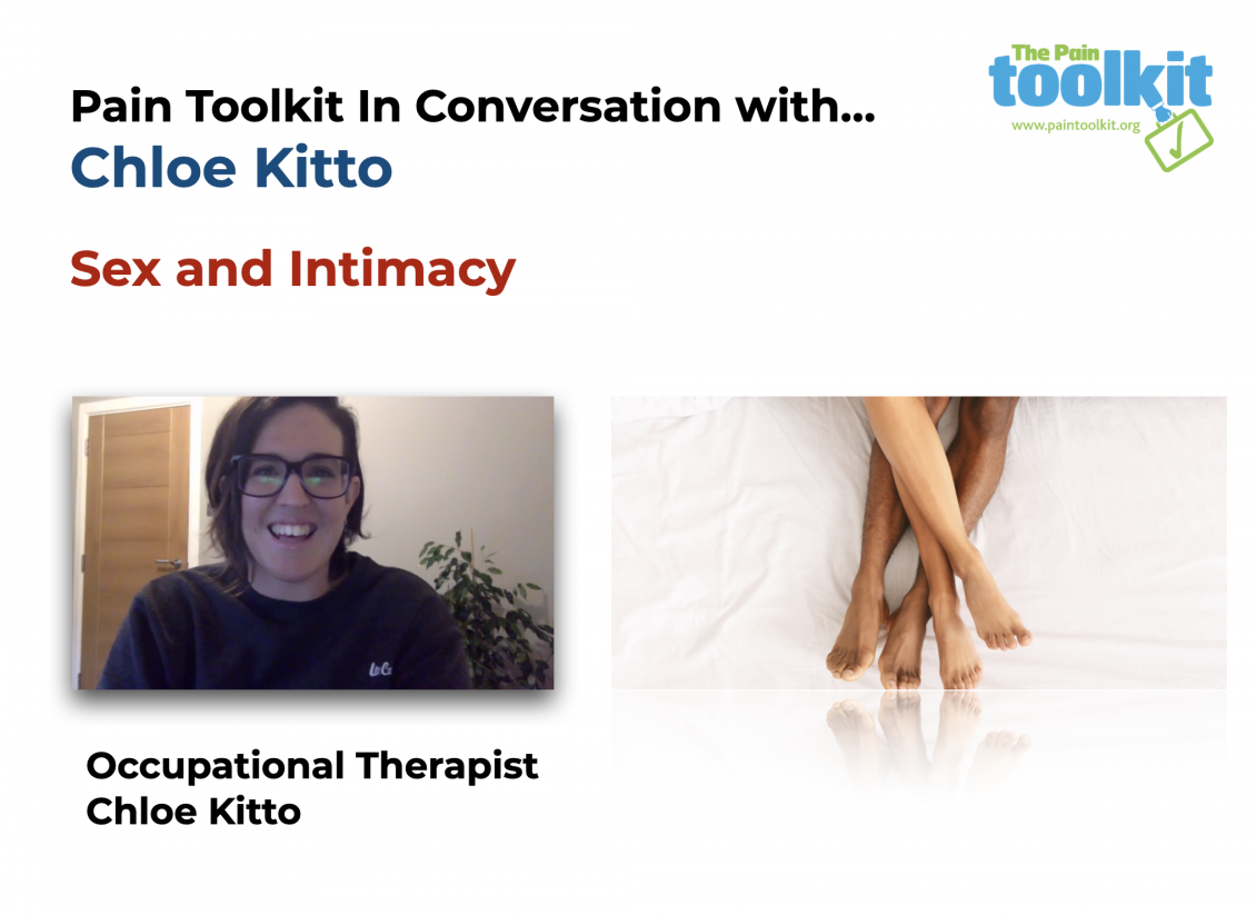Sex and Intimacy - Pain Toolkit In Conversation